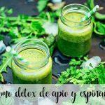 celery and spinach detox juice with thermomix