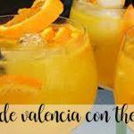 Valencia water with Thermomix