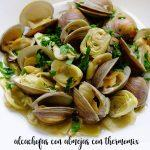 Artichokes with clams with thermomix