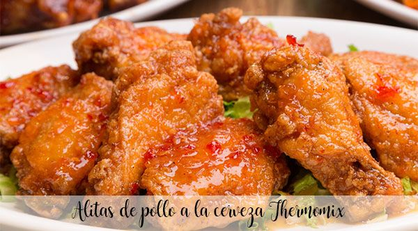 Thermomix beer chicken wings