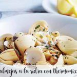 Clams in cider with Thermomix