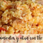Rice with peppers and Tuna with thermomix