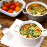 Tuna Tortilla casseroles with Thermomix