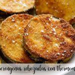 Eggplant battered with thermomix
