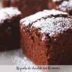 Chocolate sponge cake with thermomix