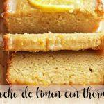 Lemon sponge cake with the Thermomix