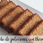 Polvorones sponge cake with thermomix