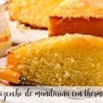 Tangerine sponge cake with Thermomix