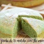 Matcha tea cake with Thermomix