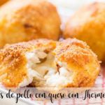 Chicken balls with cheese with Thermomix