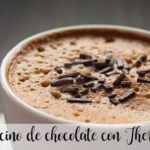Chocolate cappuccino with Thermomix