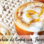 Lemon cappuccino with Thermomix