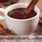 Cinnamon hot chocolate with Thermomix