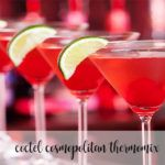 cosmopolitan cocktail with thermomix