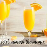 mimosa cocktail with thermomix