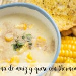 Corn and cheese cream with Thermomix