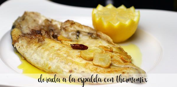 Dorada on the back with thermomix