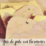 Duck foie with thermomix