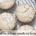 Italian amaretti cookies with Thermomix