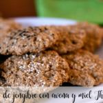 Gingerbread cookies with oats and honey Thermomix