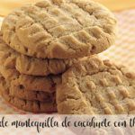 Peanut butter cookies with Thermomix