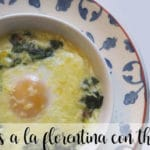 Florentine eggs with thermomix