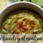 Broccoli and almond hummus with Thermomix