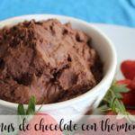 Chocolate hummus with Thermomix