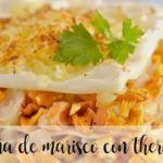 Seafood lasagna Thermomix