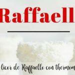 Raffaello liqueur with thermomix