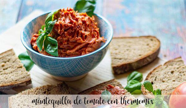 Tomato butter with thermomix