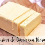 Lemon margarine with thermomix