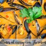 Mussels curry with Thermomix