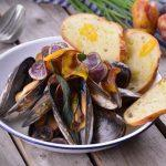 Mussels in cava thermomix