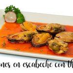 Pickled mussels with Thermomix