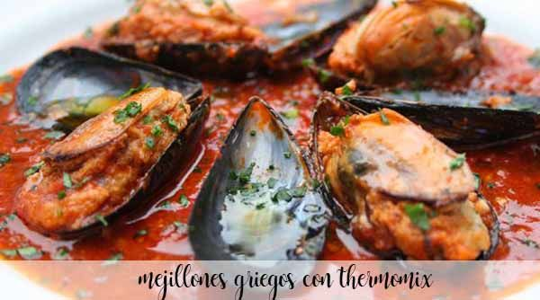 Greek Mussels Thermomix
