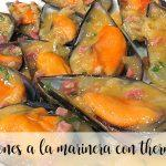 mussels a la marinera with thermomix
