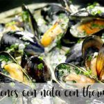 Mussels in cream with thermomix