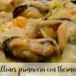 Spring mussels with Thermomix