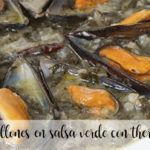 Mussels in green sauce with Thermomix