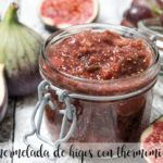 Fig jam with thermomix