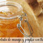 orange and ginger marmalade with thermomix