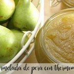 Pear jam with thermomix