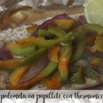 pomfret in papillote thermomix