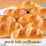 Milk bread with thermomix