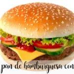 hamburger bun with thermomix