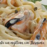 Pasta with mussels with Thermomix