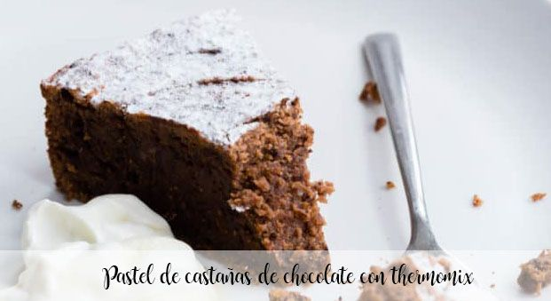 Chocolate chestnut cake with thermomix