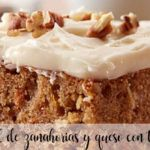 Cheese and carrot cake with Thermomix