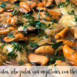 Potatoes breaded with mussels with Thermomix